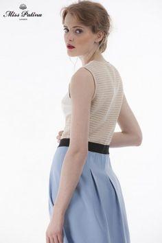 Wimbledon Dress(blue) (1)