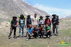Group photo Parvati Valley Trek - Himachal Pradesh Photo Credit: Nilanjan Patra