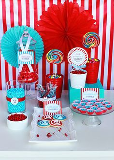 Circus Party for Boys Printable Happy Birthday by tomkatstudio, $6.50