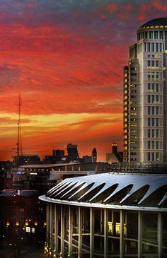 photo of Busch Stadium.  Bill Wilke Photography