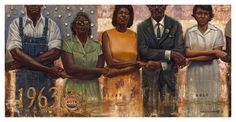 "All of this voting talk brought to mind this incredible limited edition giclee by K.A. Williams II (WAK). It's entitled ""Unbreakable"" and should remind us all of why we need to get out there and vote."