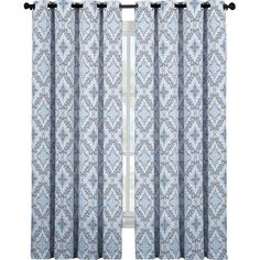 Damask Grommet Curtain Panel | Joss & Main