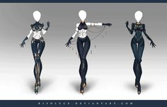 (OPEN) Adoptable Outfit Auction by Risoluce. on Source by Marusenpaii outfit Clothing Sketches, Dress Sketches, Dress Drawing, Drawing Clothes, Fashion Design Drawings, Fashion Sketches, Character Outfits, Character Art, Anime Dress