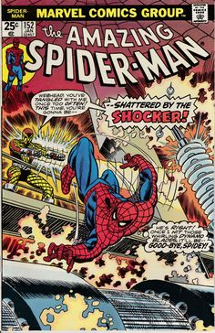 Amazing Spider-Man 152 January 1976 Issue Marvel by ViewObscura