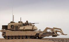 U.S. Marine Corps M1 Assault Breacher Vehicle