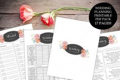Wedding planner printable PDF organizer binder, engagement gift, wedding planning kit calendar timel | The Knot Wedding Checklist Pdf | The Knot Wedding Checklist Pdf. Whether you wish to plan a fairy tale wedding or you're looking for a modern-day theme, it's crucial to understand what you desire out of your ideal wedding. Choosing a theme early in the planning will help by making lots of...