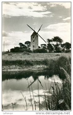 MOULIN DE NOTRE DAME - DE - MONTS............VENDEE................FRANCE.................SOURCE DELCAMPE.NET..............