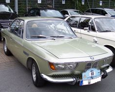 BMW 2000CS (coachwork by Karmann, who also built the later 6-series coupes.)