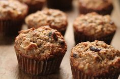 Eat Good 4 Life: Banana, Apple and Oatmeal Muffins