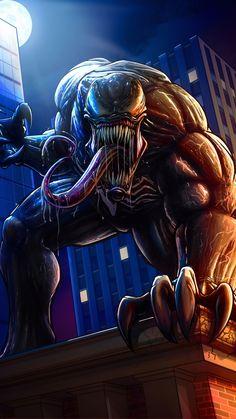 Venom Artwork Ultra Hd In Resolution Marvel Dc, Marvel Venom, Marvel Villains, Marvel Comics Art, Marvel Heroes, Marvel Characters, Venom Spiderman, Spiderman Art, Amazing Spiderman