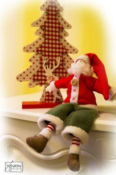 Handmade Tilda Santa Claus Doll Christmas New Year Gift Toy Interior 25cm 10in   eBay