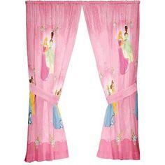 NEW Disney Princesses Damazk Dream 63-Inch Drape -FREE S/H