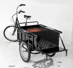 Another cargo bike idea, but I'd like to see my cargo; I know they want to see me.