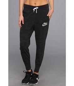 Nike Gym Vintage Sweatpants Black Sail
