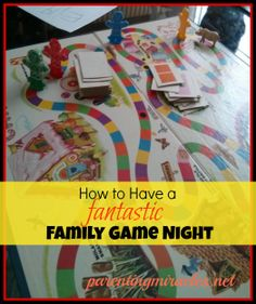 How to Have a Fantastic Family Game Night Family Fun Games, Family Movie Night, Family Activities, Games For Kids, Activity Games, Activity Ideas, Winter Fun, Family Traditions, Simple Snacks