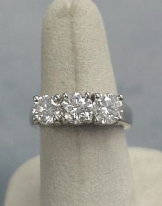 It's time to upgrade????????3 stone diamond ring, looks like mine :)