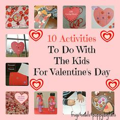 conversation heart sensory paint cheap and easy to makediy glitter puffy paint to make valentines day activities to do with the kids for valentines - Cheap Things To Do For Valentines Day