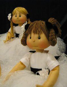 Bebê com Estilo: Bonecas de pano