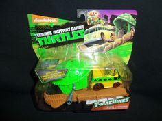 Nickelodeon Teenage Mutant Ninja Turtles T-Machines Mikey Shell Launcher #PlaymatesToys
