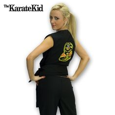 Sexy Cobra Kai Costume now available from http://www.karatemart.com