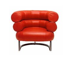 Eileen Gray, Chesterfield Chair, Armchair, Art Nouveau, Accent Chairs, Red Chairs, Furniture, Home Decor, Style