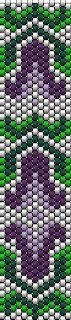 KIKI beads: Lily lightly peyote bracelet pattern +