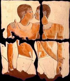 Same love in Ancient Egypt. Ancient Art, Ancient Egypt, Ancient History, Pompeii And Herculaneum, Unexplained Mysteries, Old Egypt, Gay Art, Ancient Civilizations, Egyptians