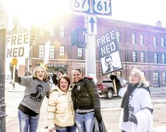 #Rally in #QuadCities #iowa - fighting for Ned's #Freedom! #freened - www.freened.org