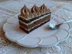 Kakaové rezy s krupicovým krémom a Fernetom (fotorecept) Tiramisu, Cake Recipes, Ethnic Recipes, Food, Basket, Sweets, Mascarpone, Easy Cake Recipes, Essen