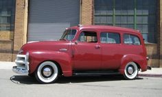 54 Chevy Suburban - one of my first vehicles was one like this (just not as shiny)