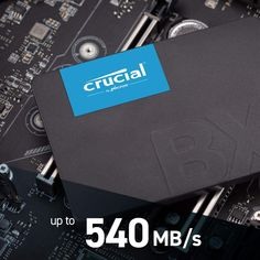 Crucial BX500 240GB CT240BX500SSD1(Z)-bis zu 540 MB/s Internes SSD (3D NAND, SATA, 2,5-Zoll) Software, Disco Duro, Samsung, Computer, Cards Against Humanity, 3d, Style, Products, Desk Tidy