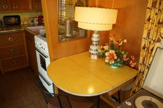 Gypsy Living Traveling In Style. Interior Wagon Camper. Vintage. TCTFALL2013Trailers  12274 by terrybone, via Flickr