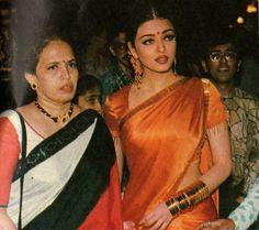 Rare pic of Aishwarya Rai with her mother Aishwarya Rai Pictures, Aishwarya Rai Photo, Actress Aishwarya Rai, Aishwarya Rai Bachchan, Bollywood Actress, Bollywood Funny, Vintage Bollywood, Bollywood Fashion, Mangalore