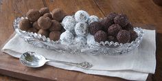 INDIA TREE Recipe for Salted Chocolate Dark Muscovado Truffles