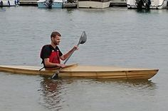 Ultralight Kayak - Middle School Project : 14 Steps (with Pictures) - Instructables Simple Boat, Build Your Own Boat, Kayaking Gear, Canoe And Kayak, The Middle, School Projects, Middle School, Pictures, Boats