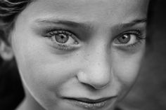 The eyes of beauty innocence - Giulio Magnifico