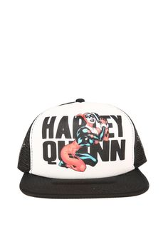 DC Comics Harley Quinn Trucker Hat   Hot Topic