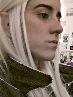 Thranduil Cosplay #ThranduilCosplay #Thranduil #Cosplay #dress #hair #ears