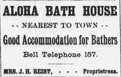 https://flic.kr/p/CweJKB | Aloha Bath House | Daily bulletin, September 28, 1893, Image 1 chroniclingamerica.loc.gov/lccn/sn82016412/1893-09-28/ed-...  Hawaii Digital Newspaper Project hdnpblog.wordpress.com/