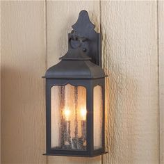 Gothic Inspired Pocket Outdoor Wall Light - Shades of Light.  Moroccan style for exterior patio area