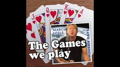 The games we play - Marc Little Baseball Cards, Play, Games, Music, Artist, Youtube, Musica, Musik, Artists