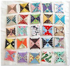 Mini quilt in progress by ayumills, via Flickr