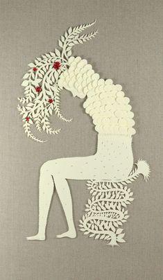 Paper Sculptures and Papercuts | Elsa Mora |  elsita.typepad.com