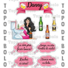 Clip Art, Candy Labels, Drunk Barbie Cake, Ale, Patterns, Autism, Manualidades, Pictures