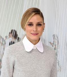 Olivia Palermo attends Delpozo Front Row September 2016 during New York Fashion Week at Pier 59 Studios on September 14, 2016 in New York City.
