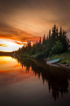 Lac Boivin - Quebec - Canada (by Maxime Gagnon)