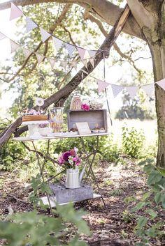 Sommerliche Vintage Hochzeit von Farbgold   Hochzeitsblog - The Little Wedding Corner