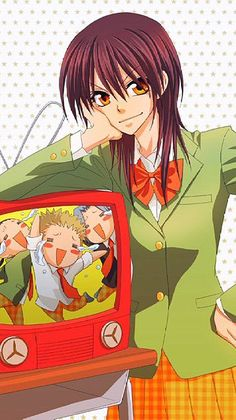 kaichou wa maid sama Hot Anime Boy, All Anime, Manga Anime, Tsundere, Zoro, Best Romantic Comedy Anime, Usui Takumi, Maid Sama Manga, Anime Love Story