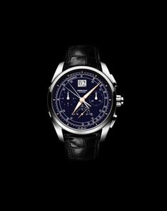 The @parmigiani Tonda Chronor Anniversaire features the brand's first ever integrated in-house developed chronograph.  It comes in a 42.1 mm x 14.6 mm, fully polished case, has a 7.2-mm crown and is water-resistant to 30 meters. Shown with white gold case, blue dial and black Hermes leather strap. More @ http://www.watchtime.com/wristwatch-industry-news/watches/parmigiani-fleurier-tonda-chronor-anniversaire-celebrates-20-years-of-the-brand/  #parmigianifleurier #watchtime #chronograph…