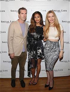 Nicole Scherzinger, Devorah Rose, and Justin Mitchell  attend the Social life Magazine Memorial Day Event